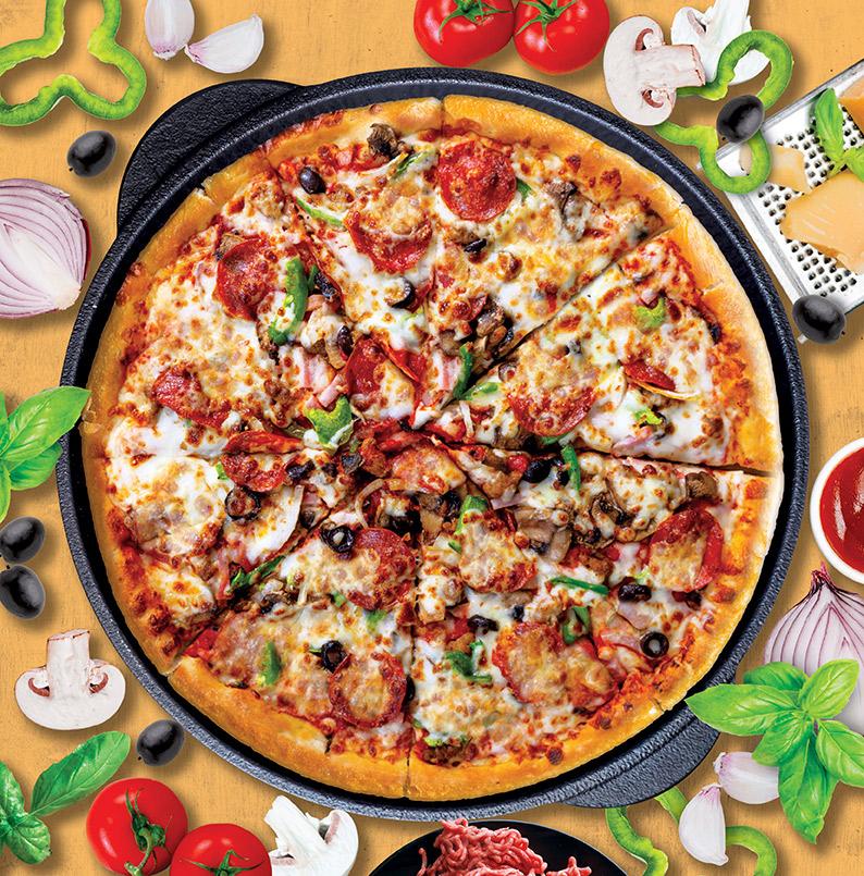 پيتزا مخلوط