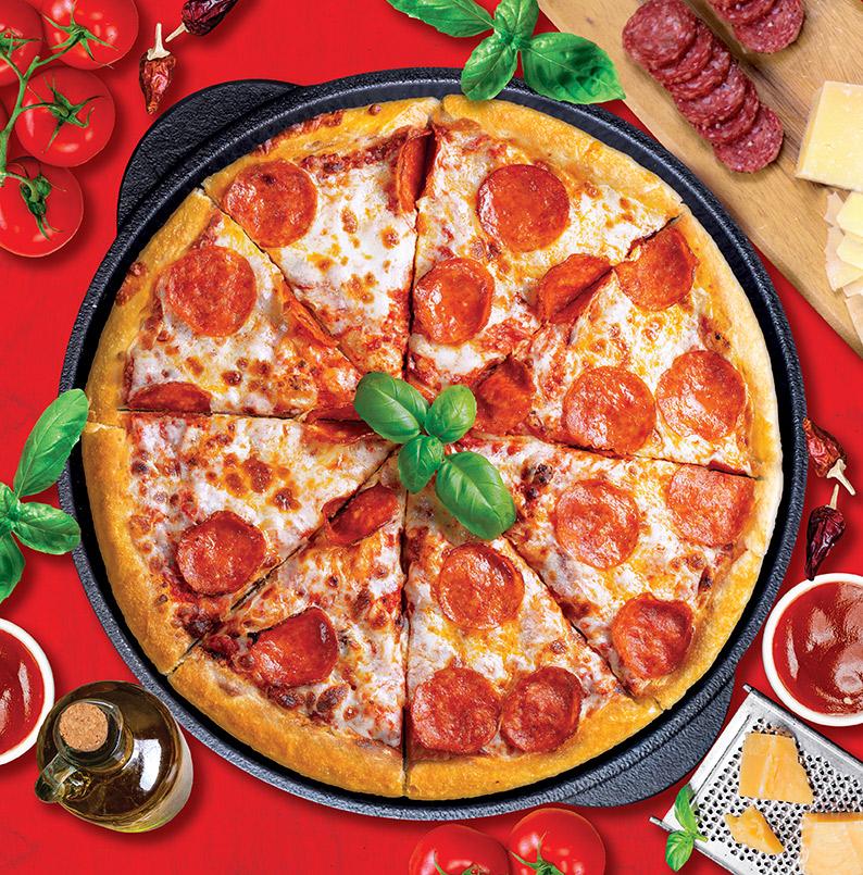 پيتزا پپرونی