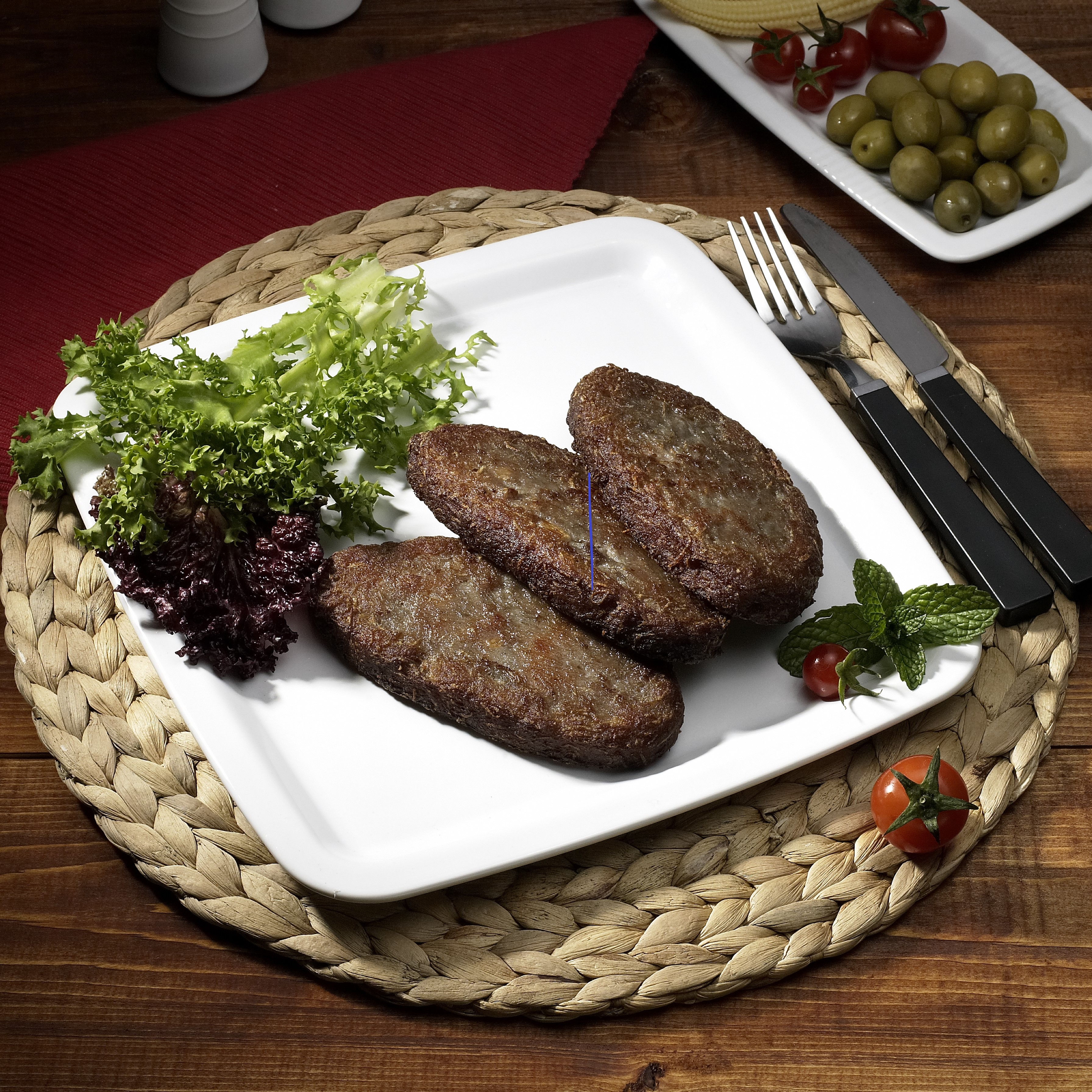 Persian Meat Cutlets